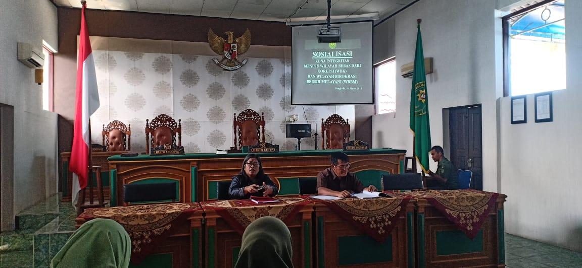 Rapat Sosialisasi Zona Integritas Pengadilan Negeri Bengkalis