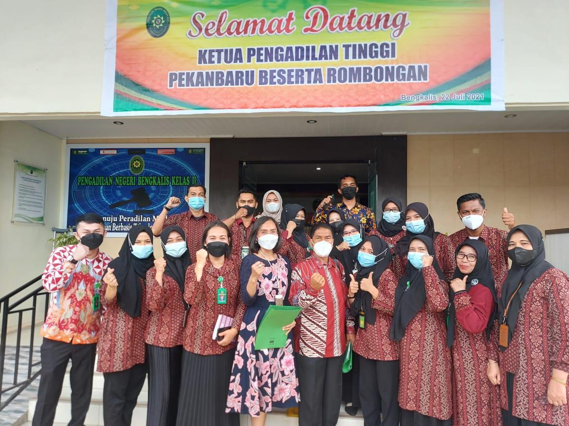 Closing Meeting Pembinaan, Pengawasan dan Surveillance Akreditasi Penjamin Mutu oleh Pengadilan Tinggi Pekanbaru